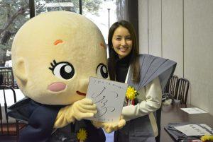 女優の矢田亜希子さん❤ 美人さんで、とってもやさしかったよ~♬